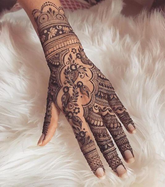Trending Bridal Mehendi Designs for the Brides of Today's India Rajasthani mehndi designs Basic mehndi designs Latest bridal mehndi designs