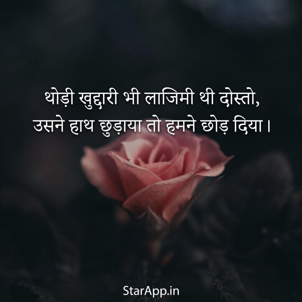 क्यूट लव अटटूडे स्टेटस हिंदी attitude status Love Quotes Images