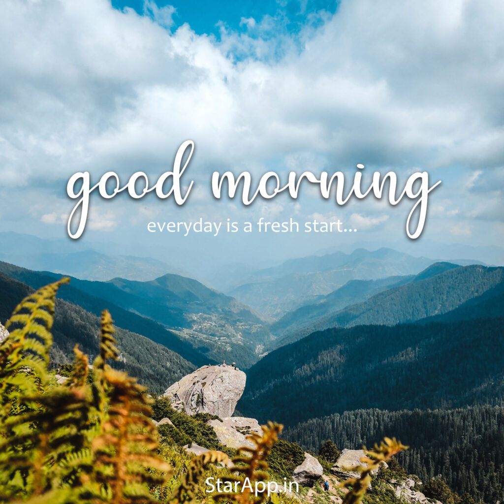 Beautiful Good Morning Images with Nature and Sunrise
