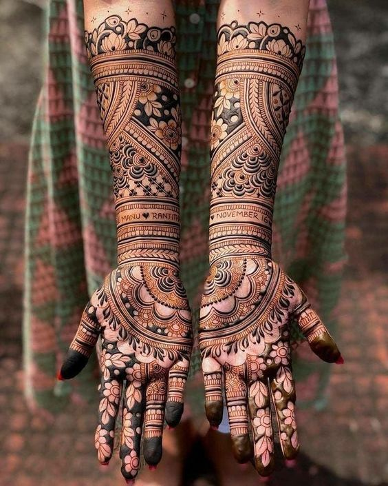 Types of Mehndi Designs From Different Cultures