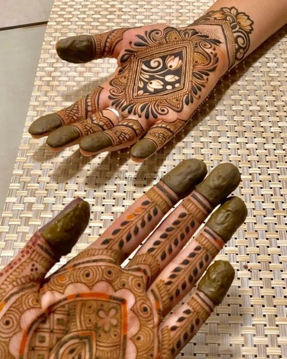 Arabic Mehandi Design For You To Try On