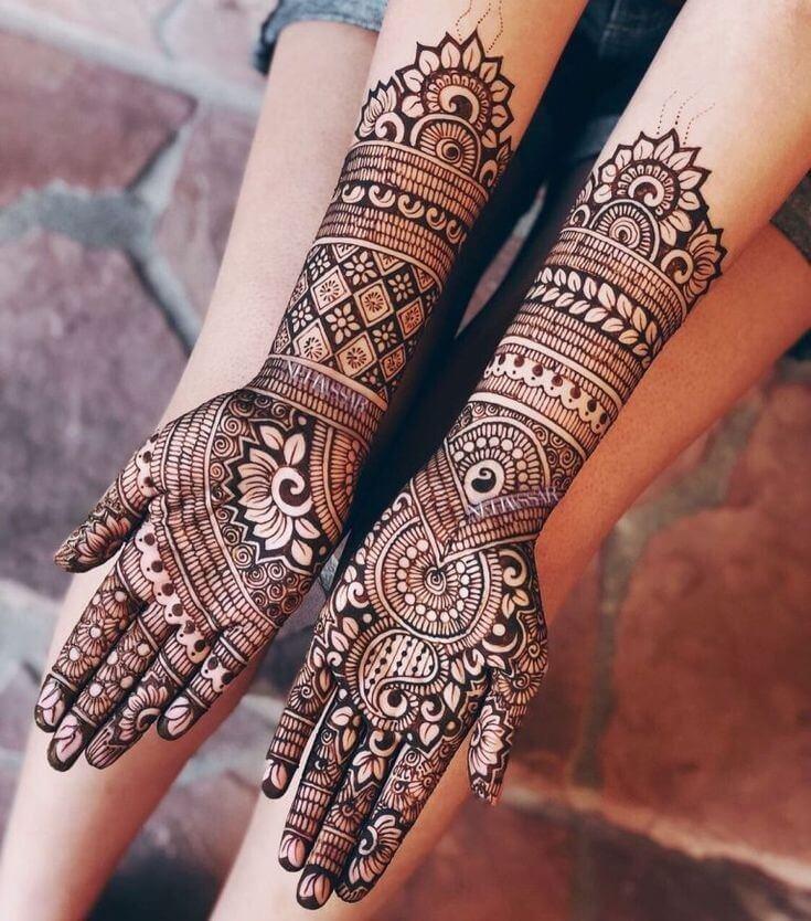Top Simple Mehndi Designs Easy Peasy Yet Beautiful