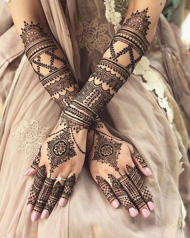 TOP LATEST BRIDAL MEHNDI DESIGN TRENDS FOR WEDDING SEASON HENNA TATTOO MEHNDI ART
