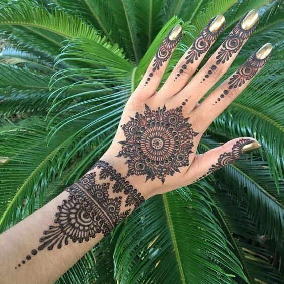 Mehndi Designs Latest & Easy Mehendi Ideas For Brides and Bridesmaids